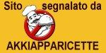 Questo sito è segnalato da Akkiapparicette